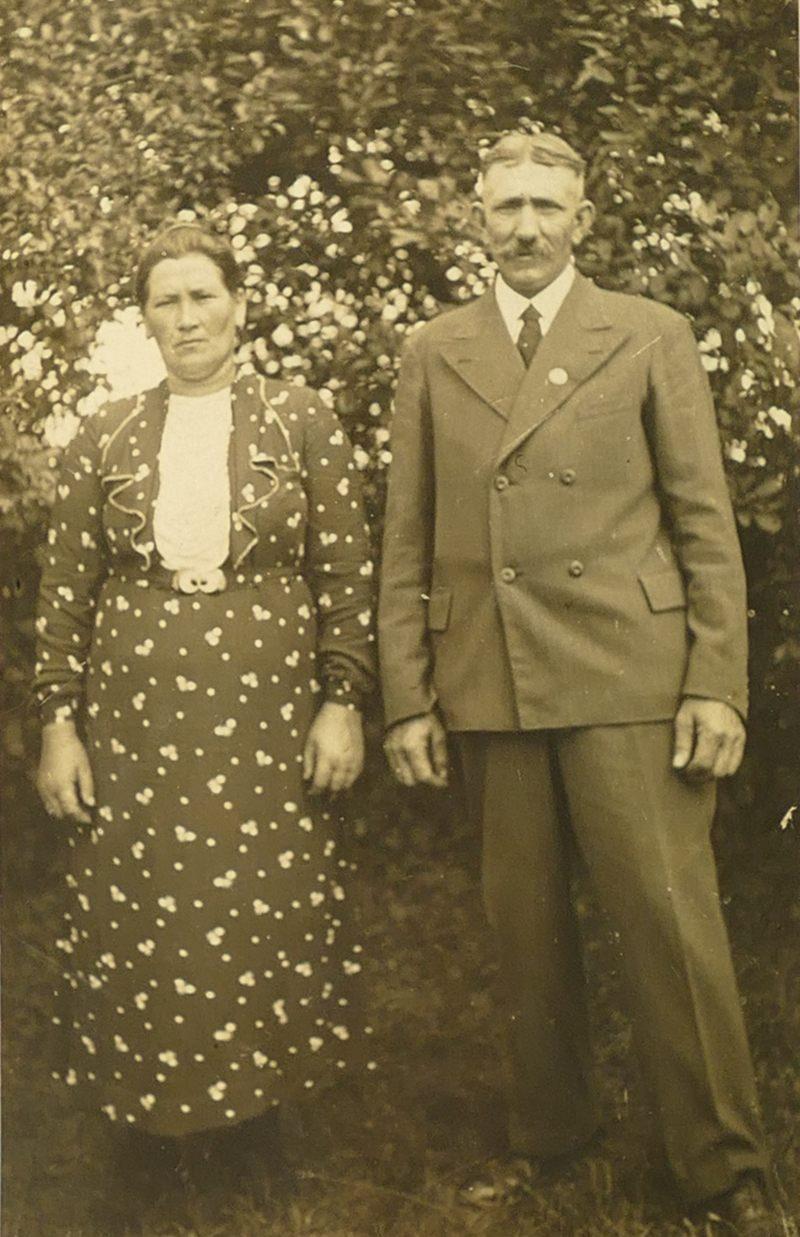 1950er Großeltern Leiberg