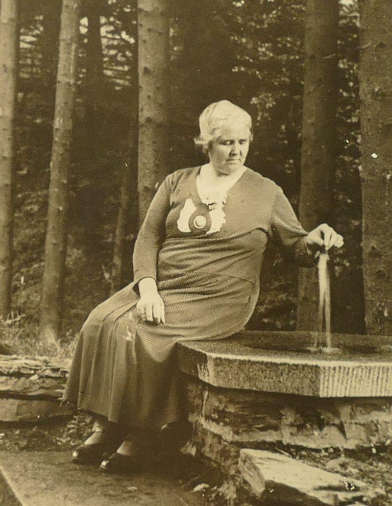 1950er Oma Anna