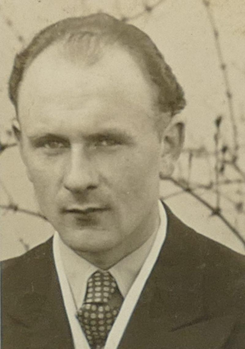 1950er Papa Porträt