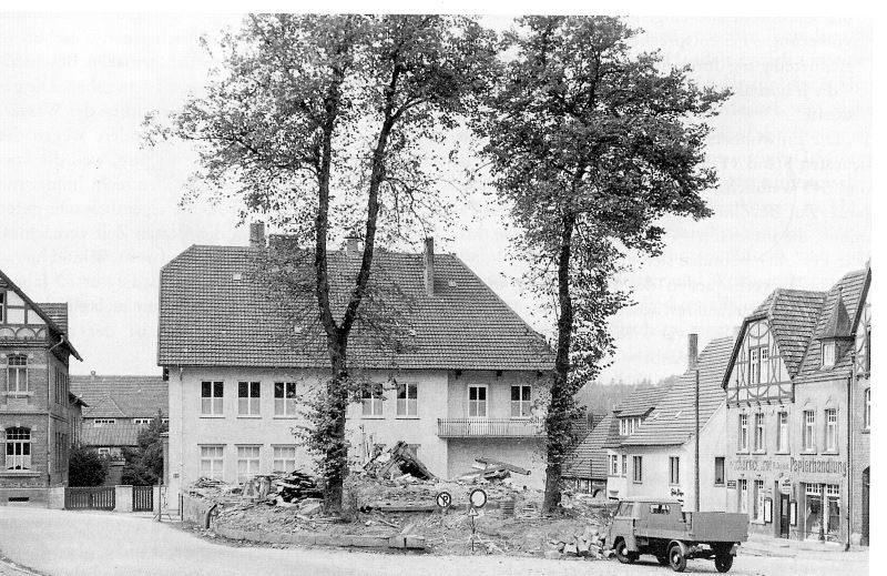 1957 Rathausabbruch August