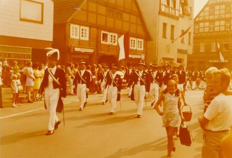 1960er Markt Schützenfest