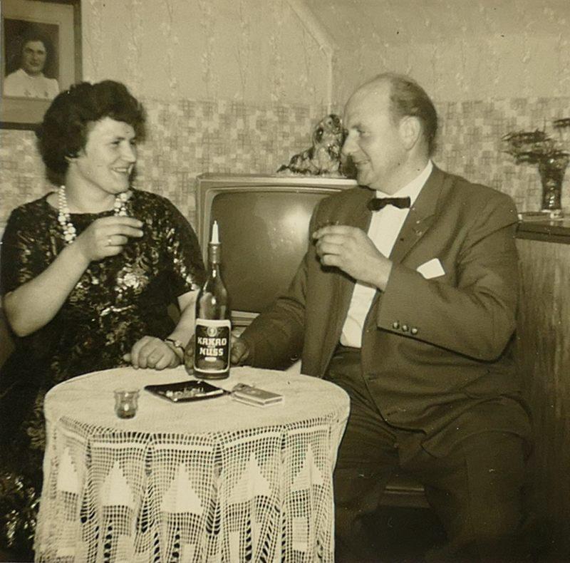 1960er PapaMama im Wohnzimmer