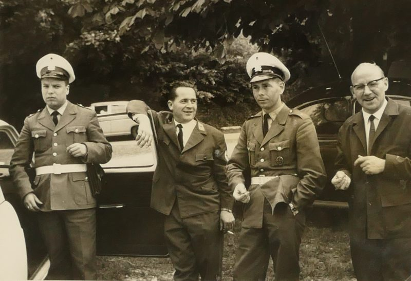 1962 Polizei Rotes Kreuz