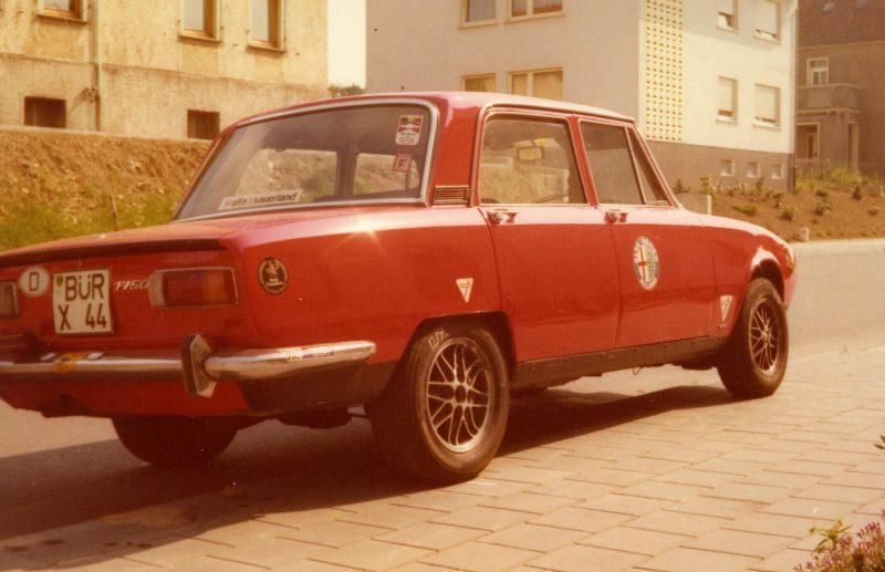 1974 AR 1750 Berlina a
