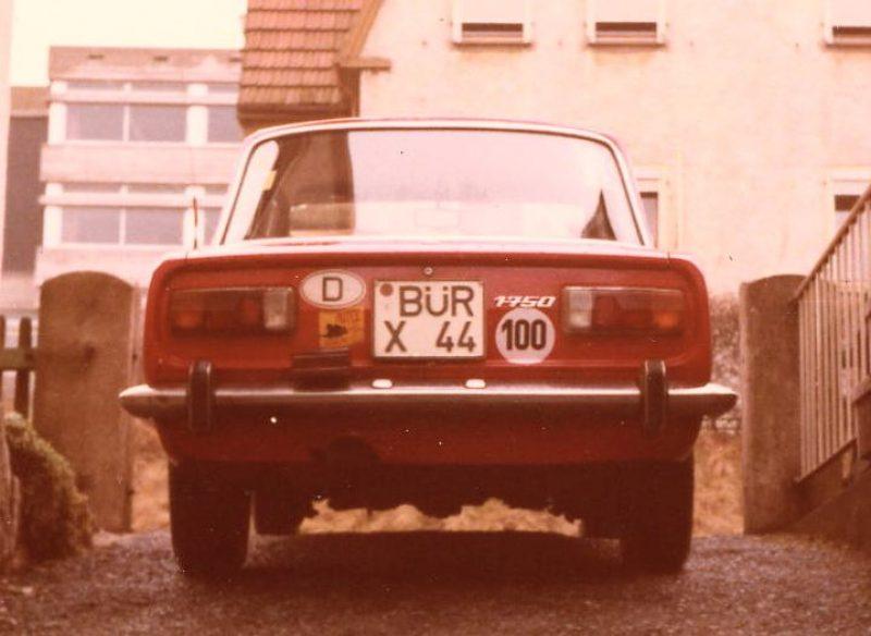 1974 AR 1750 Berlina c