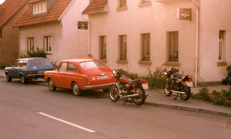 1979 Autos Motorräder