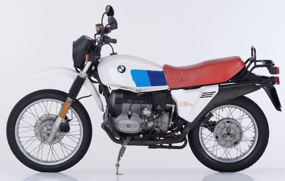 1980er BMW R80G-S
