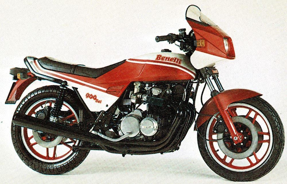 1980er Benelli 900 Sei