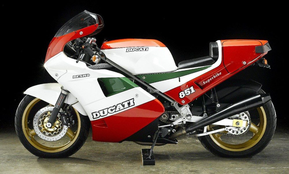 1980er Ducati 851 Superbike