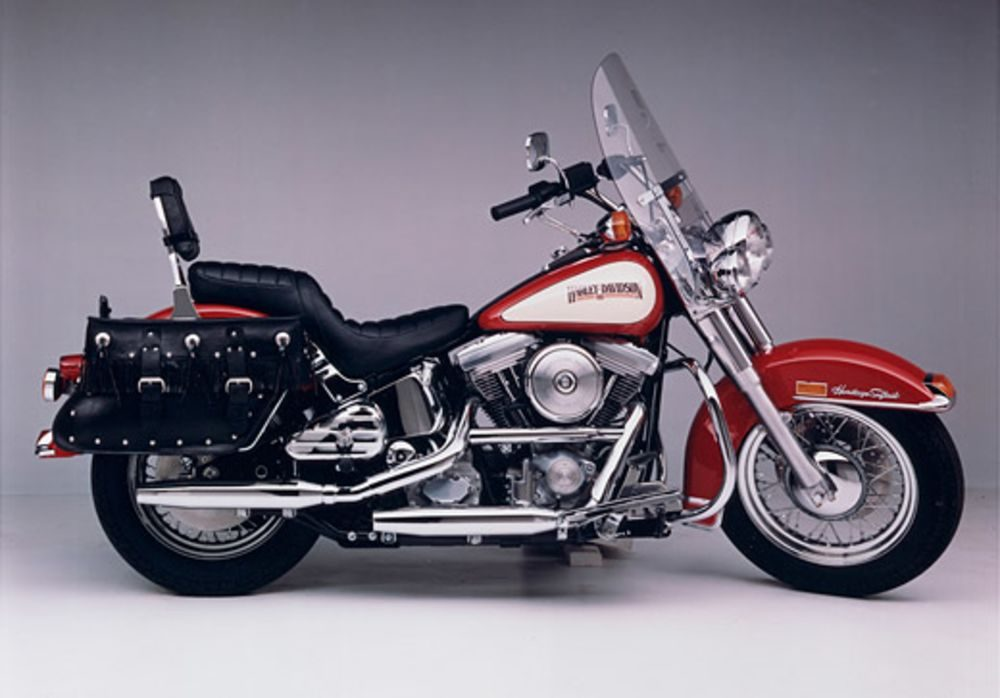 1980er Harley Davidson Heritage Softtail 1340 FLST
