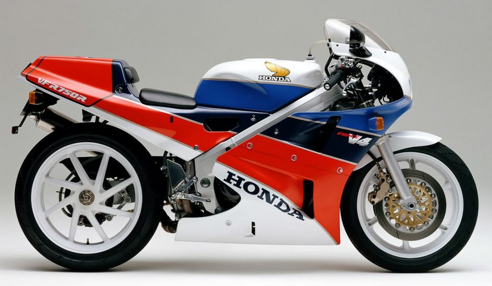 1980er Honda VFR750R RC30