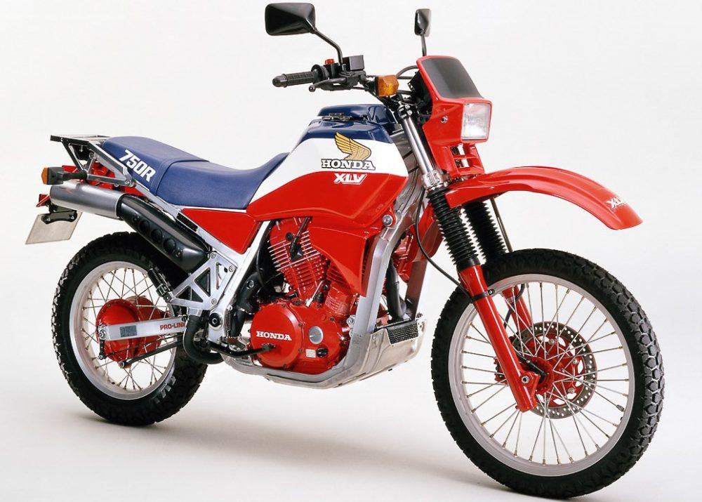 Honda XLV750 (Quele: Honda)