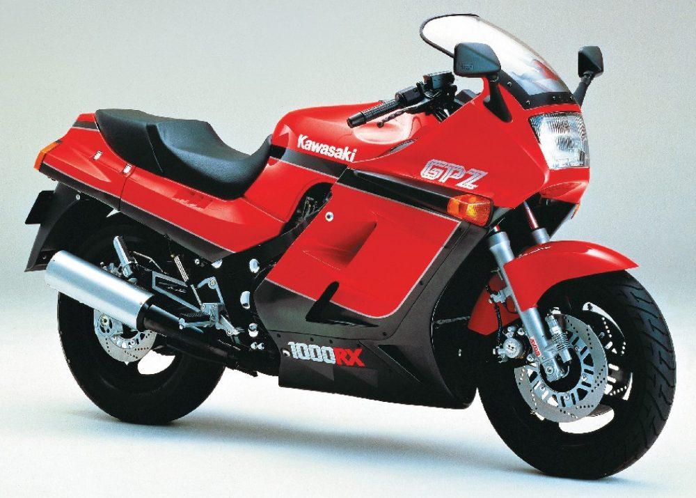 1980er Kawasaki GPZ1000RX