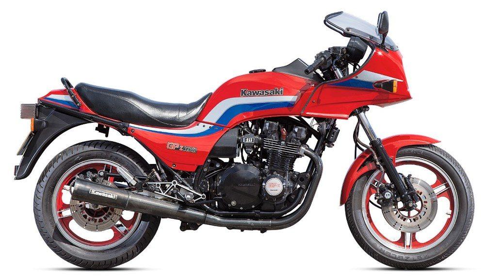 1980er Kawasaki GPZ1100 1983