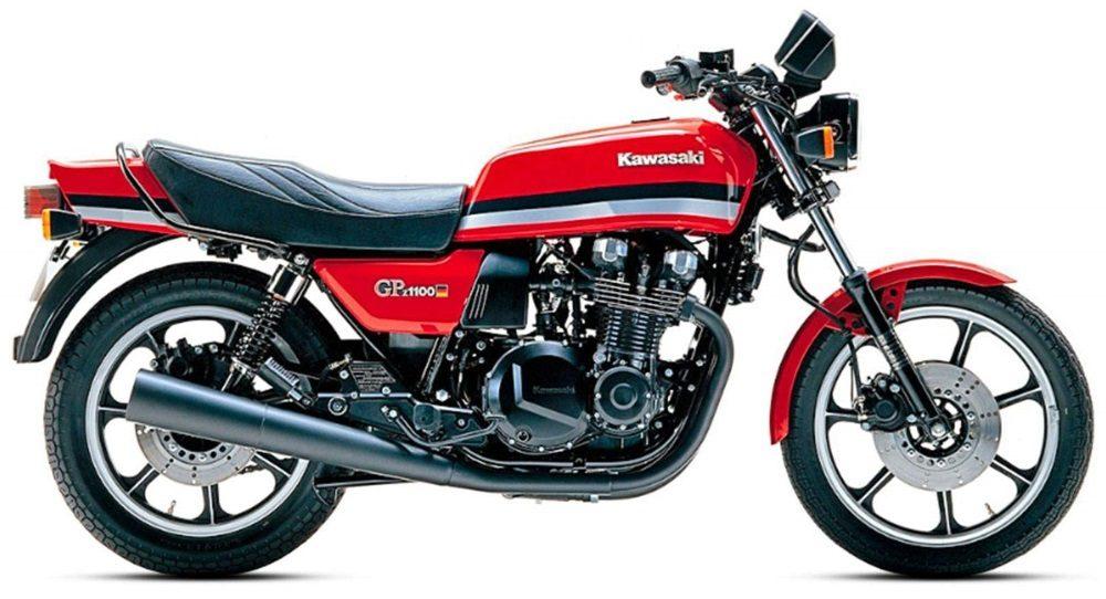 1980er Kawasaki GPZ1100