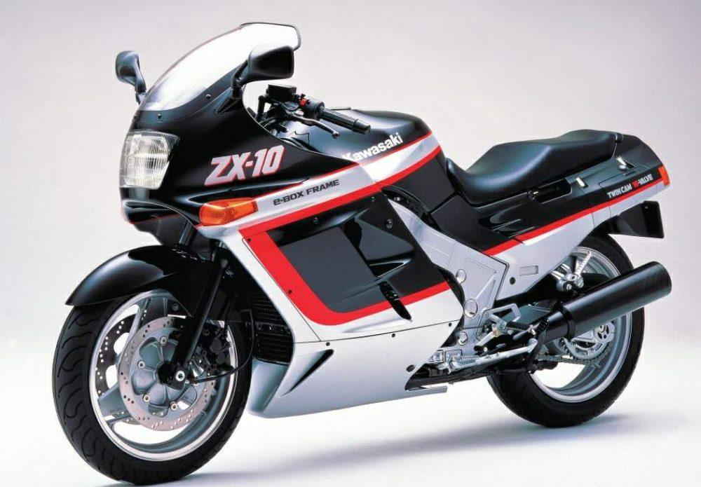 1980er Kawasaki ZX10