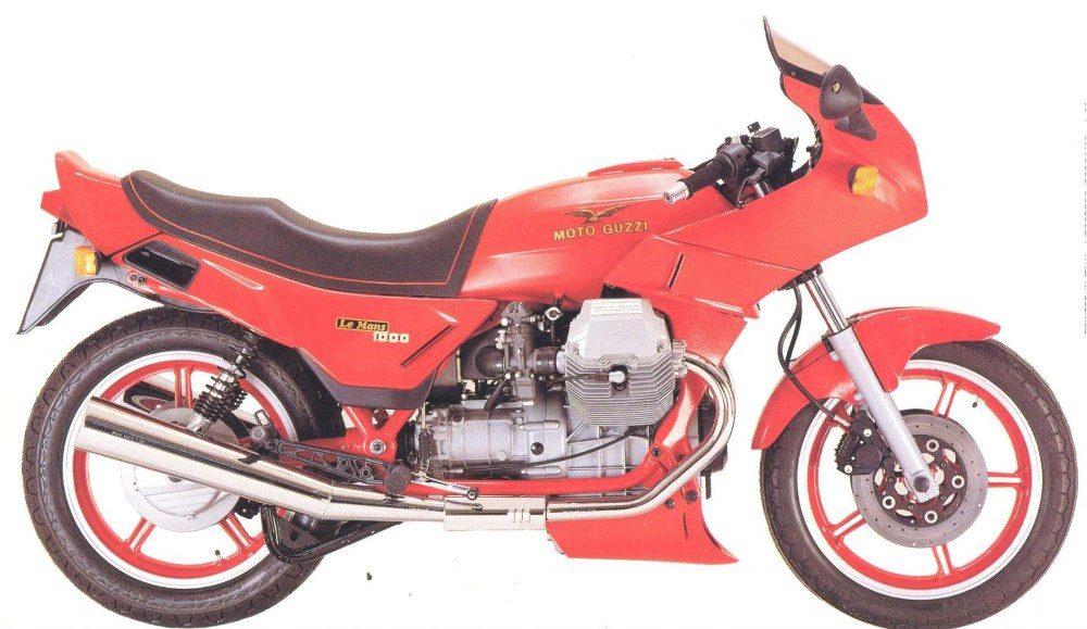 1980er Moto Guzzi 1000 LeMans V 1988