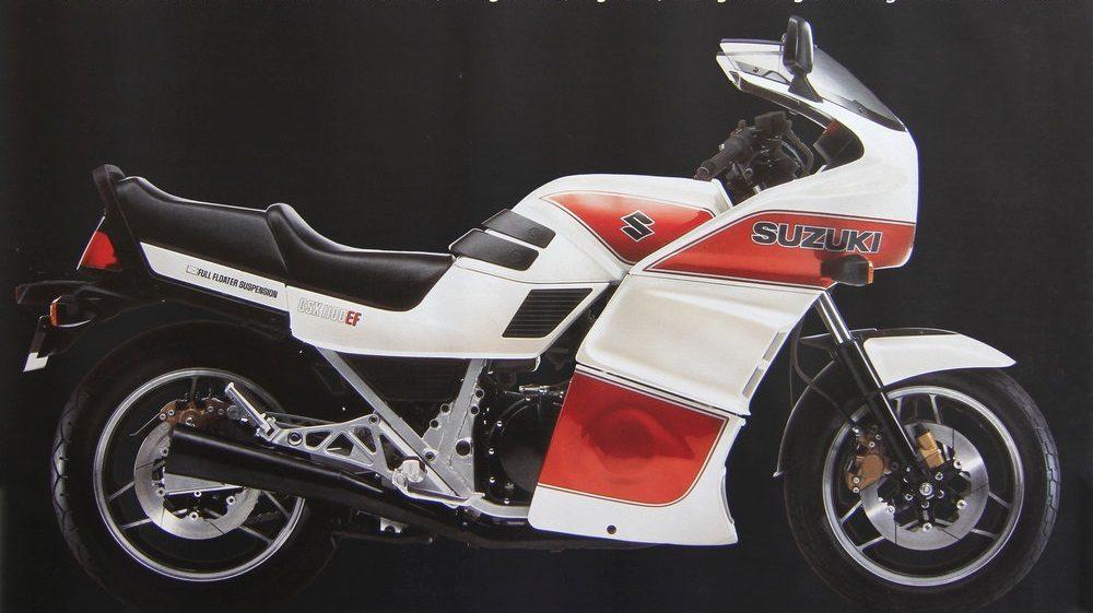 1980er Suzuki GSX1100EF