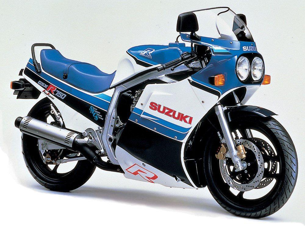 1980er Suzuki GSXR750
