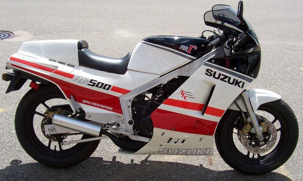 1980er Suzuki RG500 Gamma