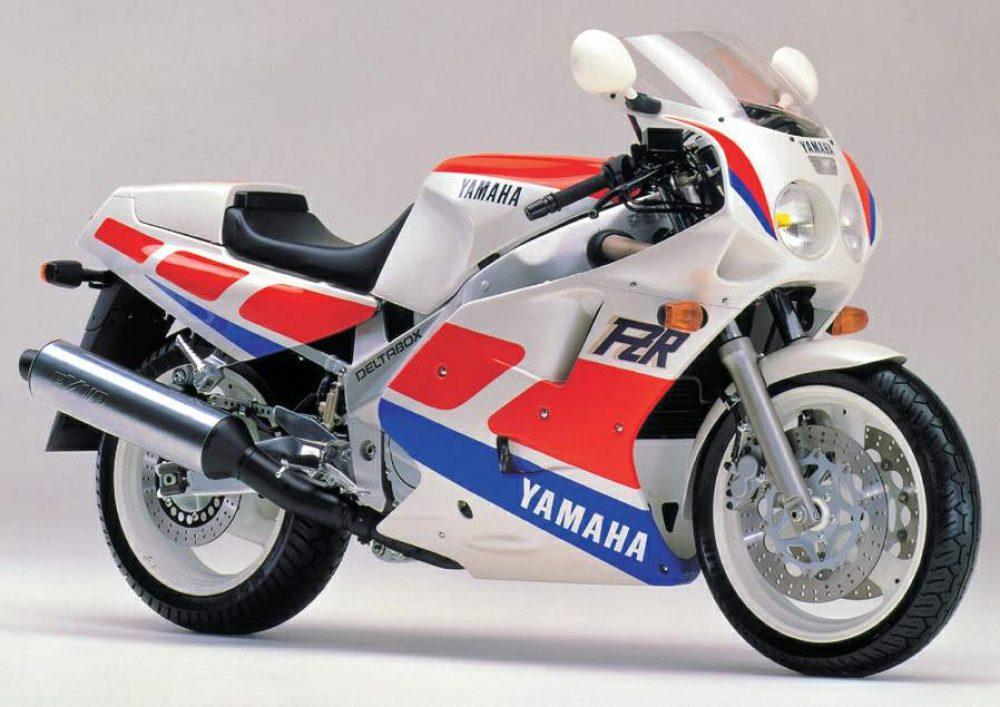 1980er Yamaha FZR1000Exup