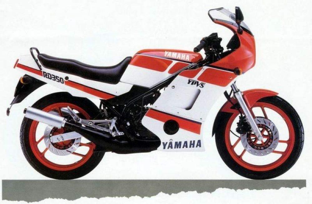 1980er Yamaha RD350F LC