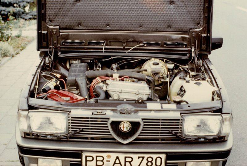 1986 Giulietta_Motor