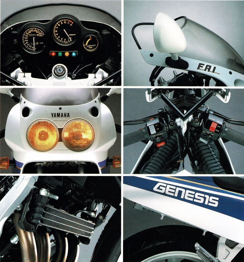 1987 FZR Details