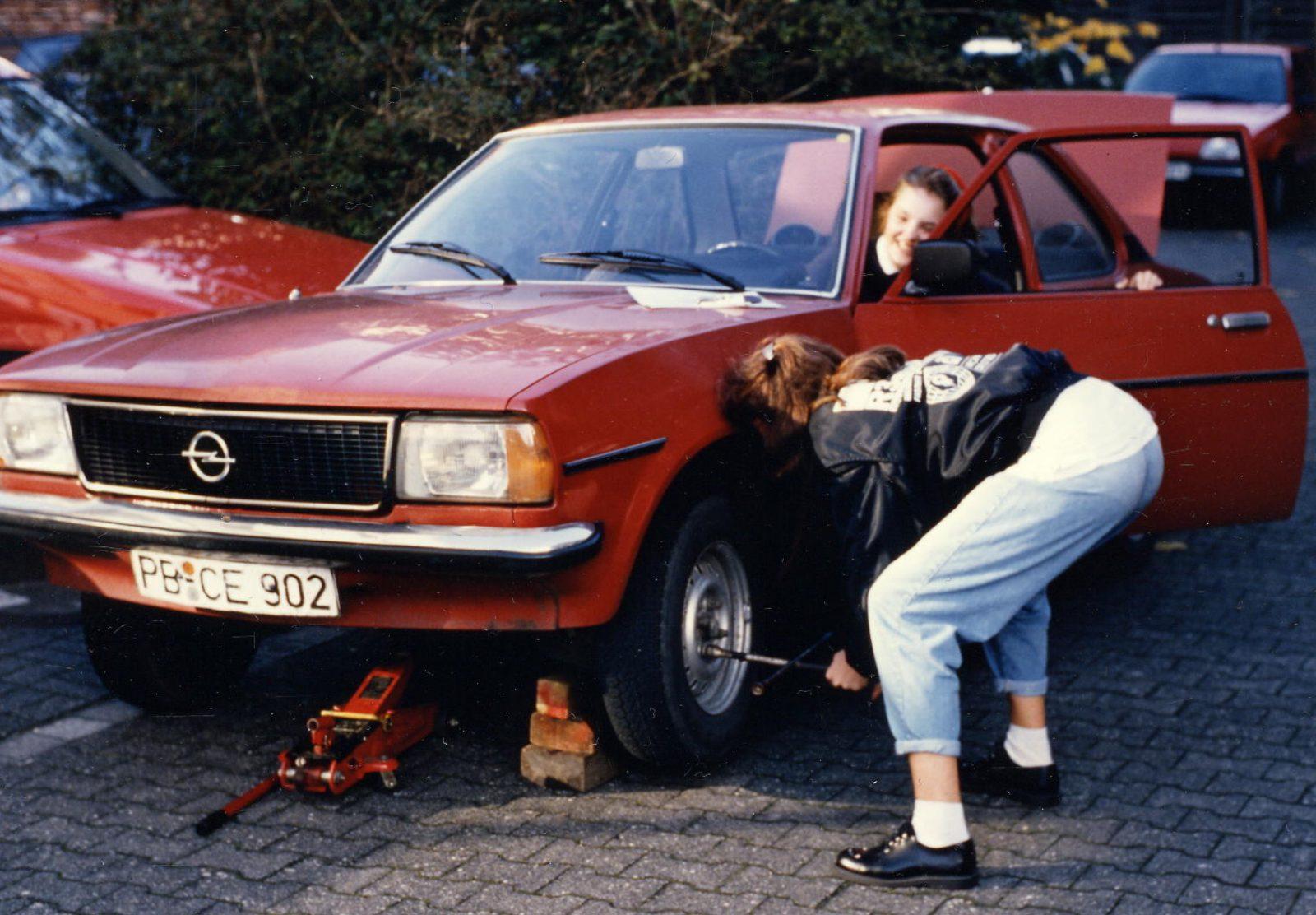 1990 Opel Ascona B rot