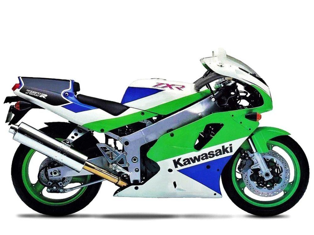 1990er Kawasaki ZXR750R