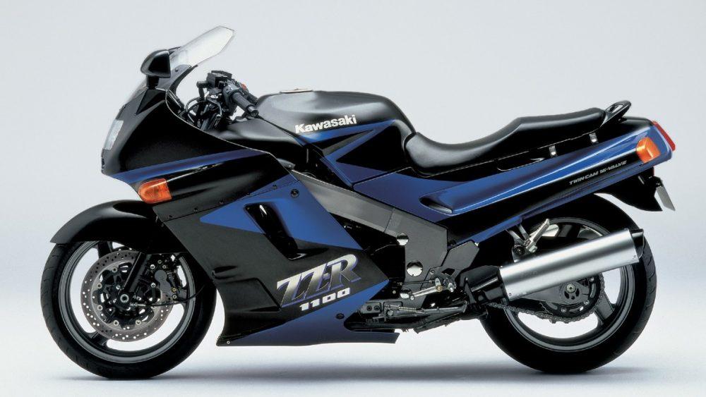 1990er Kawasaki ZZR1100