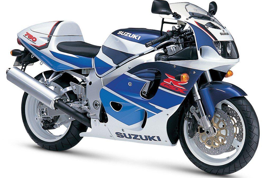 1990er Suzuki GSX-R750