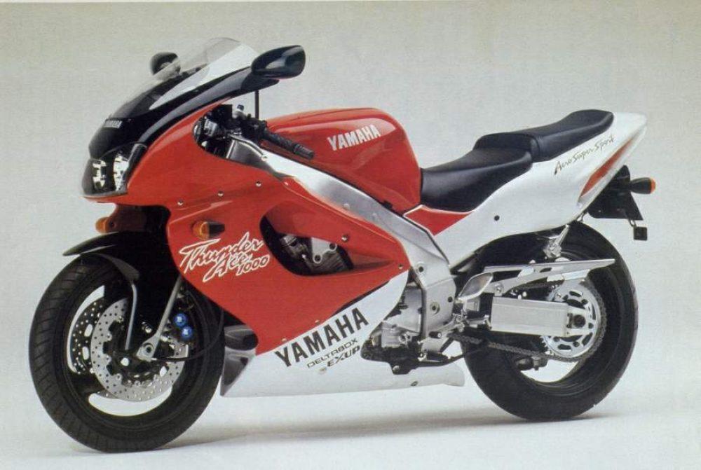 1990er Yamaha YZF1000 Thunderace