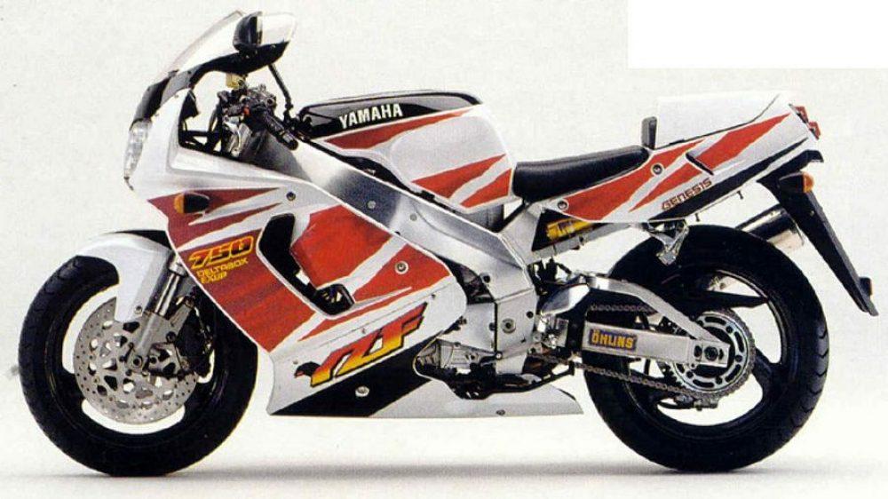 1990er Yamaha YZF750R 1995