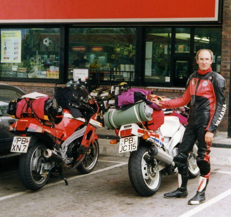 1991 Kawa Yamaha Frankreich800