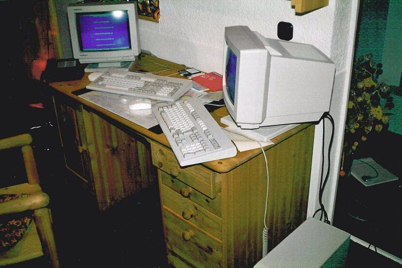 1992 B02 Installation zu Hause