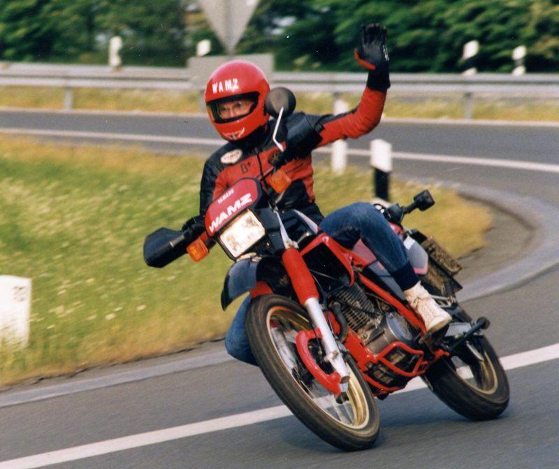1992 Yamaha XT660 FW800