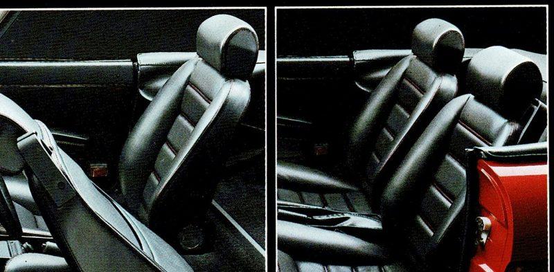 1997 AR Spider 2000 Sitze