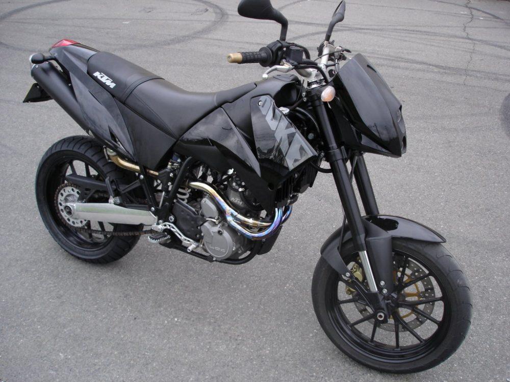 2000er KTM 640 Duke