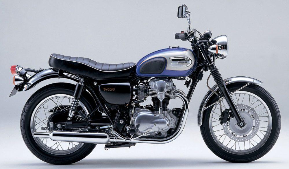Kawasaki W650 (Quelle: Kawasaki)