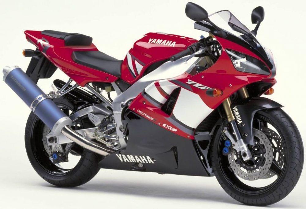2000er Yamaha R1 RN04 2001