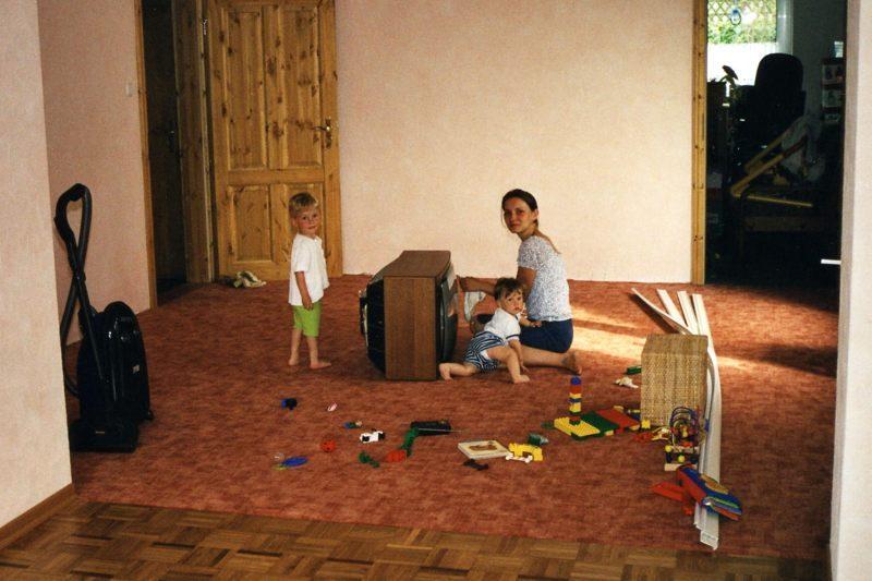 2003 06 Wohnzimmer leer