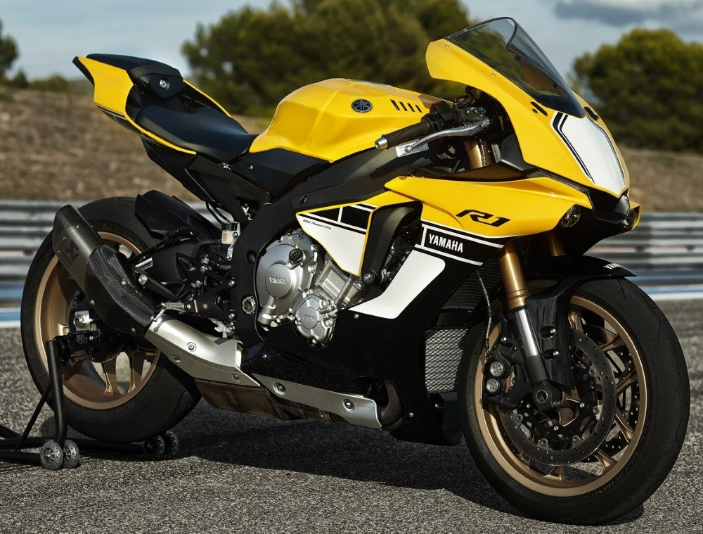 2010er Yamaha R1 60th