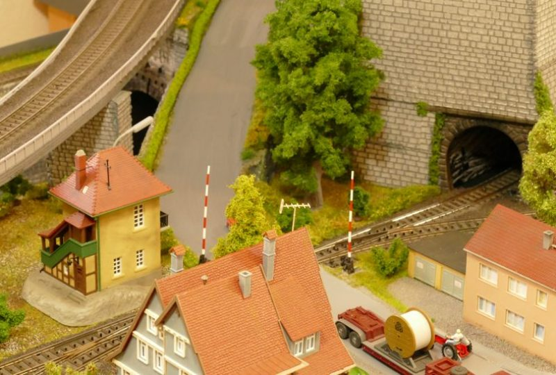 Bahnübergang nach Silbach