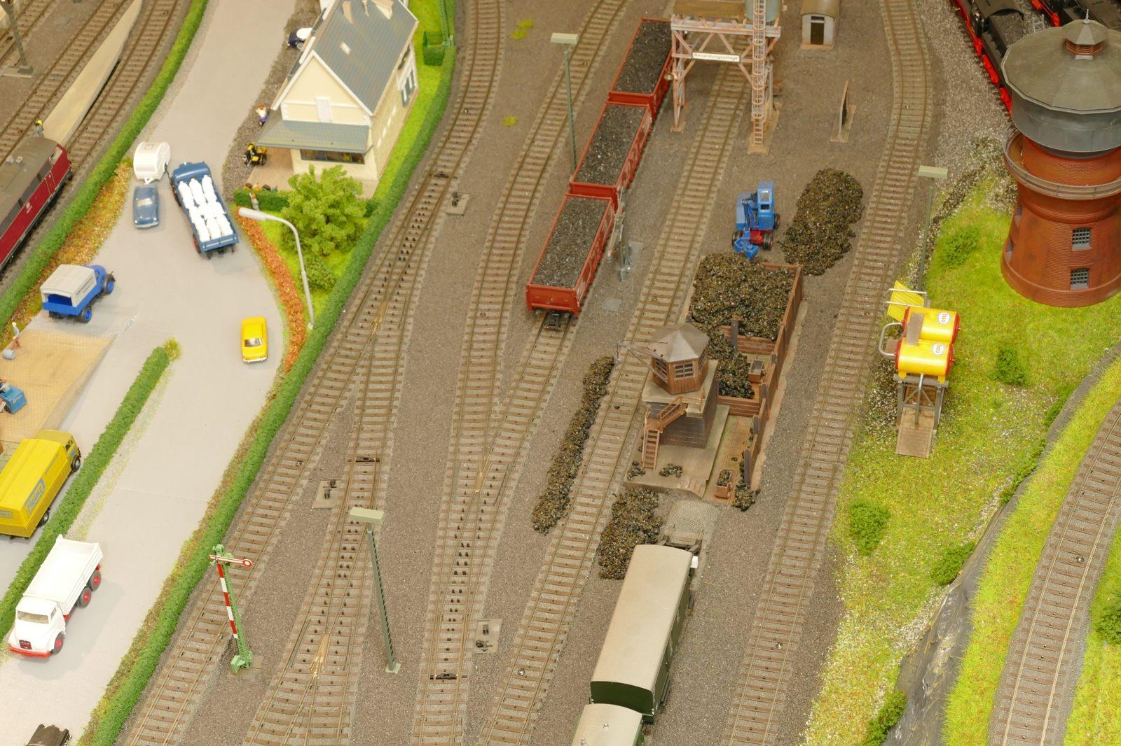 Güterbahnhof Brilon-Wald, hier Dampflok-Anlagen