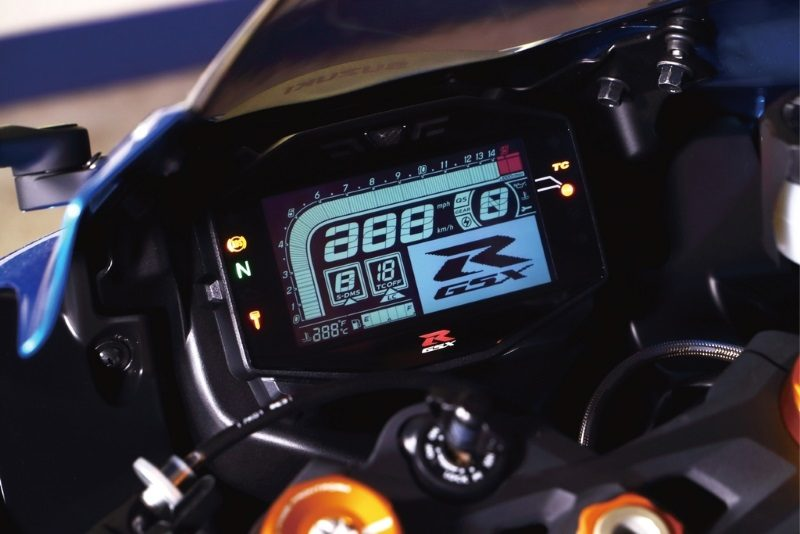 2019er Suzuki GSX-R1000 Tacho