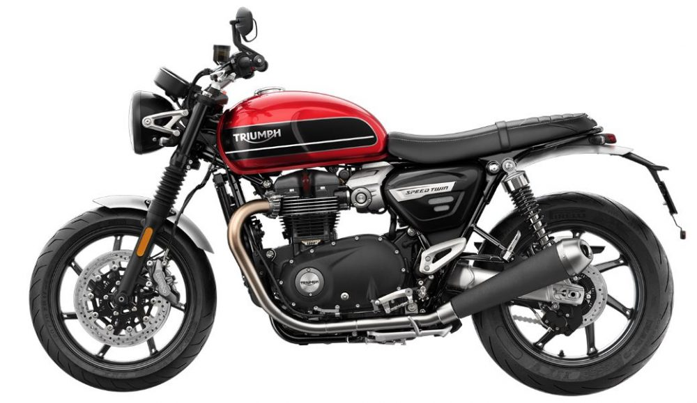 2019er Triumph Speed Twin links