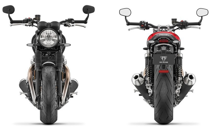 2019er Triumph Speed Twin v und h