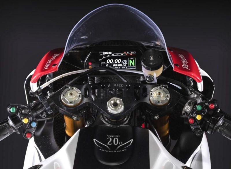 2019er Yamaha YZF R1 GYTR Cockpit