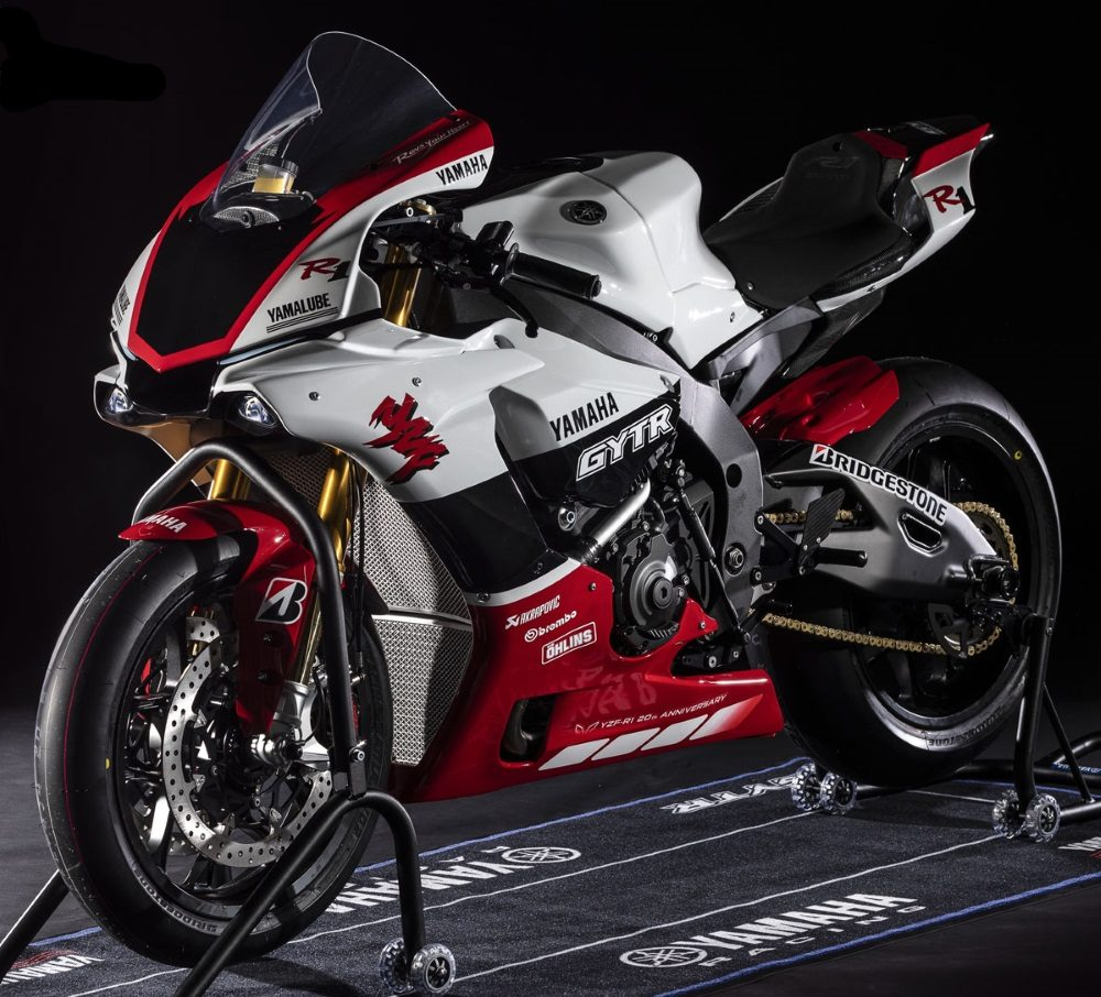 2019er Yamaha YZF R1 GYTR links